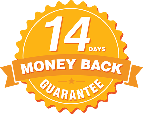 14 days money back at pckart