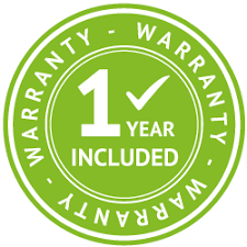 Free one year warranty at pckart